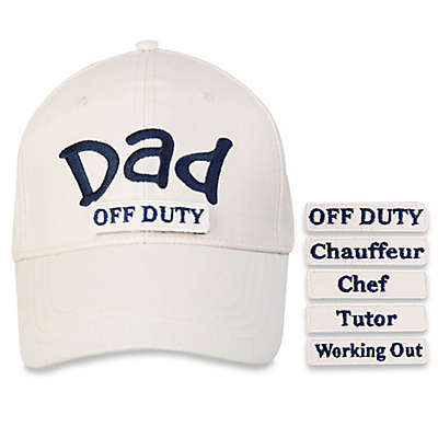 countdowncaps™ 5-in-1 Dad Cap in Beige/Blue