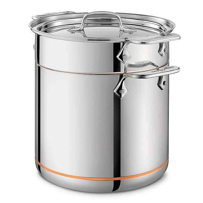 Alternate image 1 for All-Clad Copper Core® 7 qt. Pasta Pentola