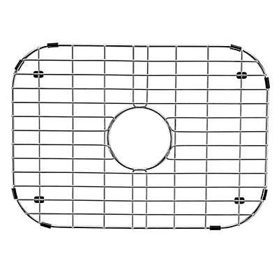 Vigo 13.4-Inch x 18.2-Inch Kitchen Sink Bottom Grid in Polished Chrome