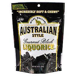 Wiley Wallaby 10 oz. Australian Style Gourmet Black Licorice