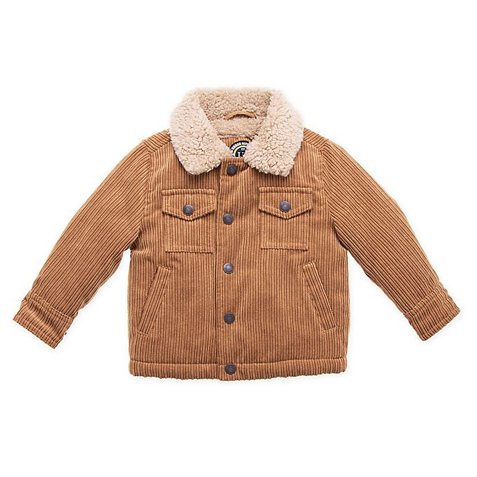 Alternate image 1 for Urban Republic Courdoroy Jacket in Rust