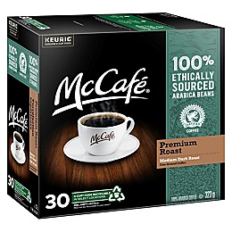 McCafe® Premium Roast Coffee Keurig® K-Cup® Pods Value Pods 30-Count