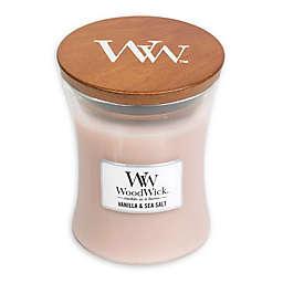 WoodWick® Vanilla & Sea Salt Medium Hourglass Jar Candle