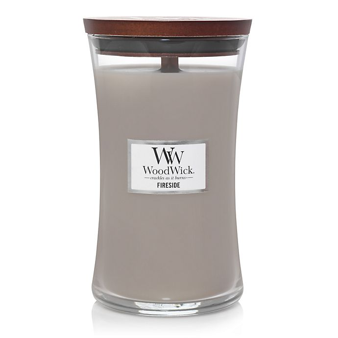 Alternate image 1 for WoodWick® Fireside 22-Ounce Jar Candle