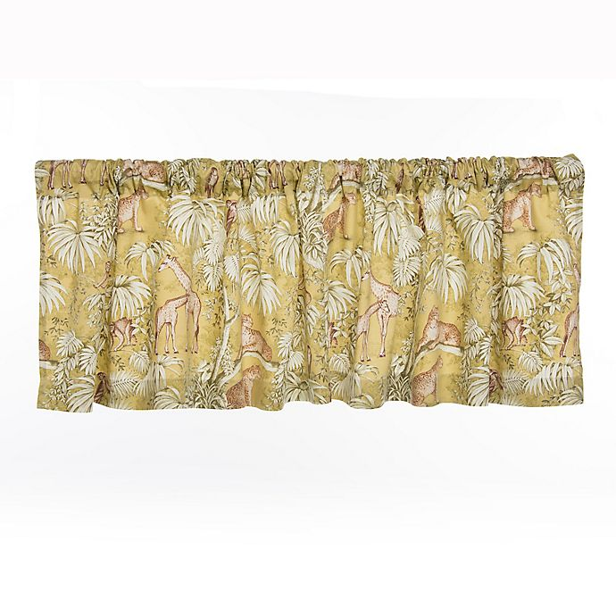 Alternate image 1 for Glenna Jean Cape Town Window Valance in Green