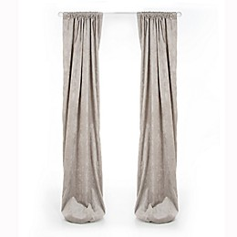 Glenna Jean Uptown Traffic Window Curtain Panel in Grey