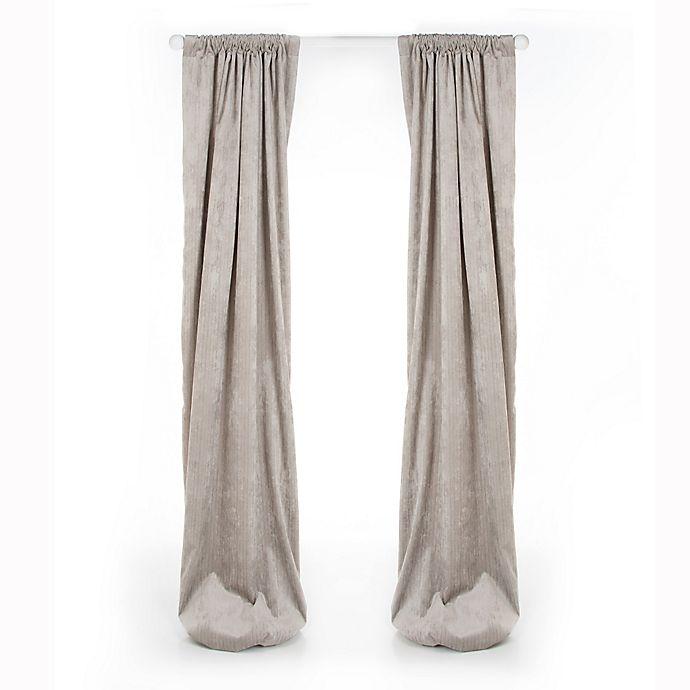 Alternate image 1 for Glenna Jean Uptown Traffic Window Curtain Panel in Grey