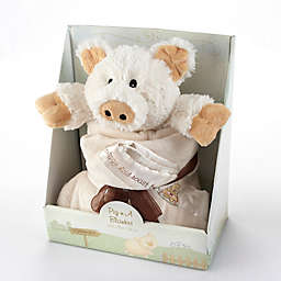 Baby Aspen Pig in a Blanket 2-Piece Gift Set