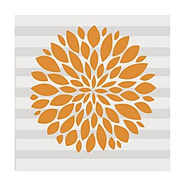 Glenna Jean Orange Flower Vinyl Wall Decal