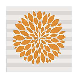 Glenna Jean Orange Flower Vinyl Wall Decal