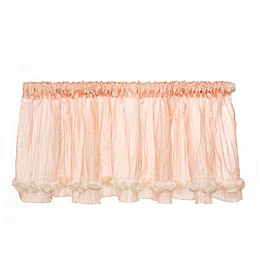 Glenna Jean Contessa Window Valance in Cream/Pink