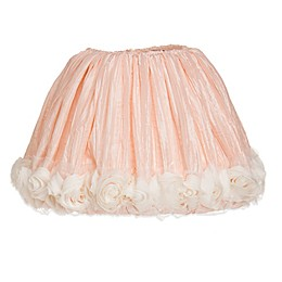 Glenna Jean Contessa 9-Inch Crinkle Lamp Shade in Pink