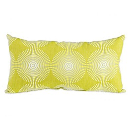Glenna Jean Dylan Oblong Geometric Print Throw Pillow in Green