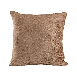 Glenna Jean Fly-By Velvet Throw Pillow in Brown
