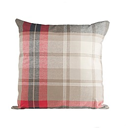 Glenna Jean Fly-By Plaid Throw Pillow