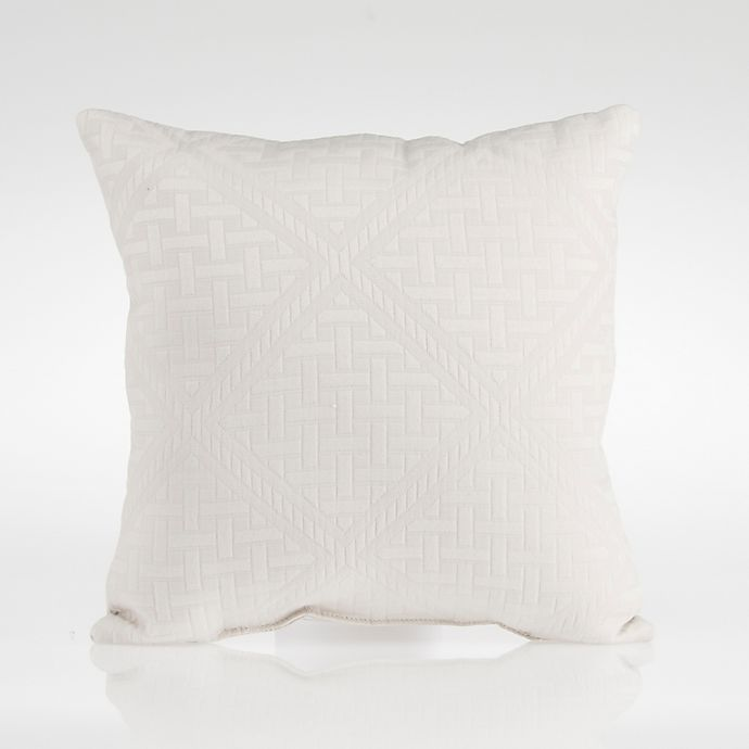 Alternate image 1 for Glenna Jean Millie Throw Pillow in Grey