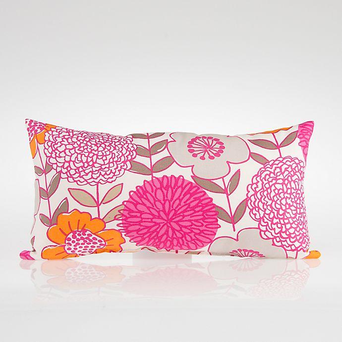 Alternate image 1 for Glenna Jean Millie Rectangular Floral Throw Pillow