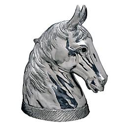 Arthur Court Designs Cast Aluminum Horse Wine Cooler