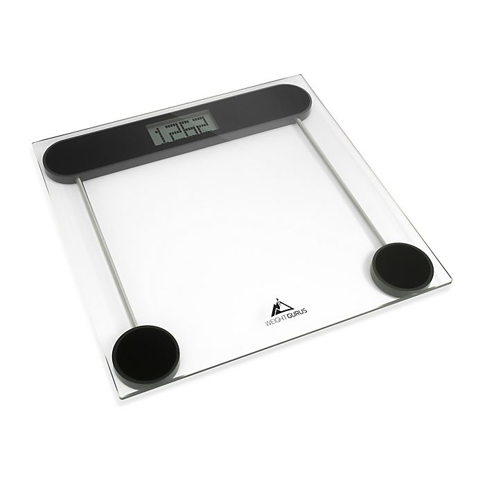 Weight Gurus 174 Smartphone Connected Bathroom Scale Bed