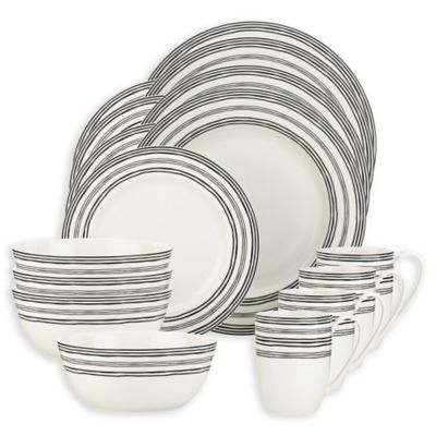 Lenox 174 Bistro Place 16 Piece Dinnerware Set Bed Bath