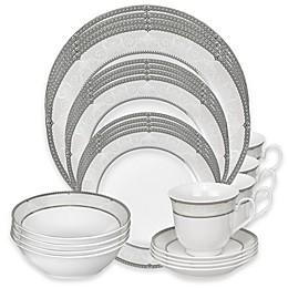 Lorren Home Trends Ballo 24-Piece Dinnerware Set