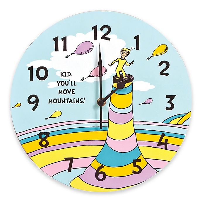 Trend Lab 174 Dr Seuss Kid You Ll Move Mountains Wall