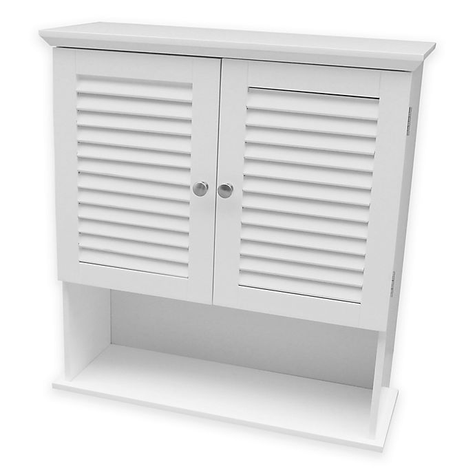 Alternate image 1 for Summit Wall Cabinet in White