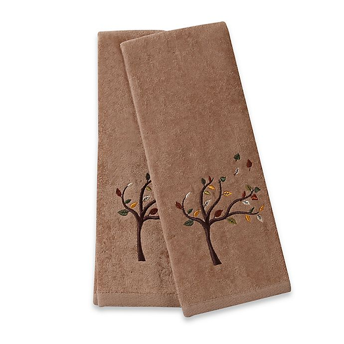 Alternate image 1 for Tree Hand Towels (Set of 2)