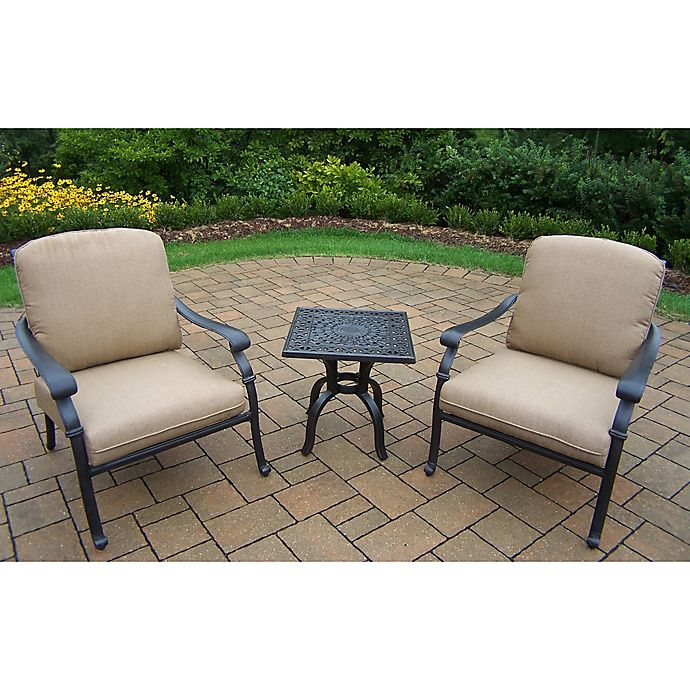 Alternate image 1 for Oakland Living Clairmont 3-Piece Chair Set