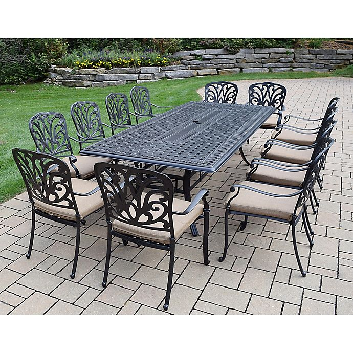 Alternate image 1 for Oakland Living Clairmont 13-Piece Outdoor Dining Set