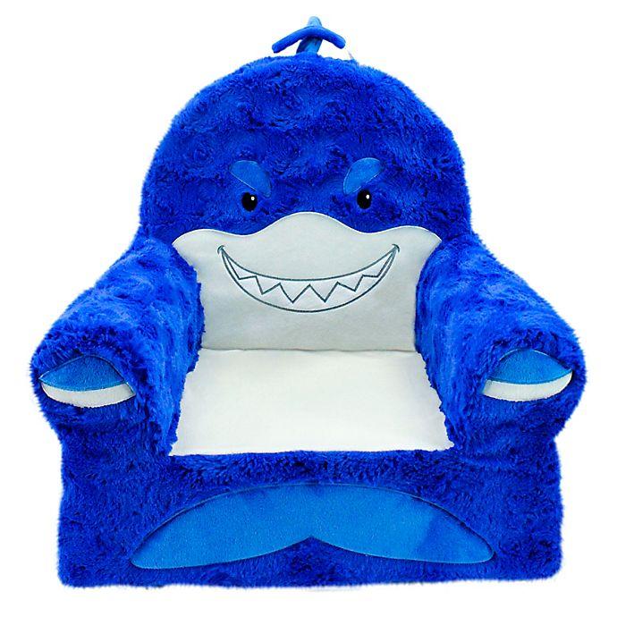 Alternate image 1 for Soft Landing™ Premium Sweet Seats™ Shark Character Chair