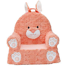 Soft Landing™ Premium Sweet Seats™ Bunny Chair in Coral