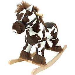 Soft Landing™ Joyrides Horse Rocking Toy in Brown/White