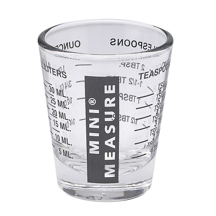 Alternate image 1 for Mini Glass Measuring Cup
