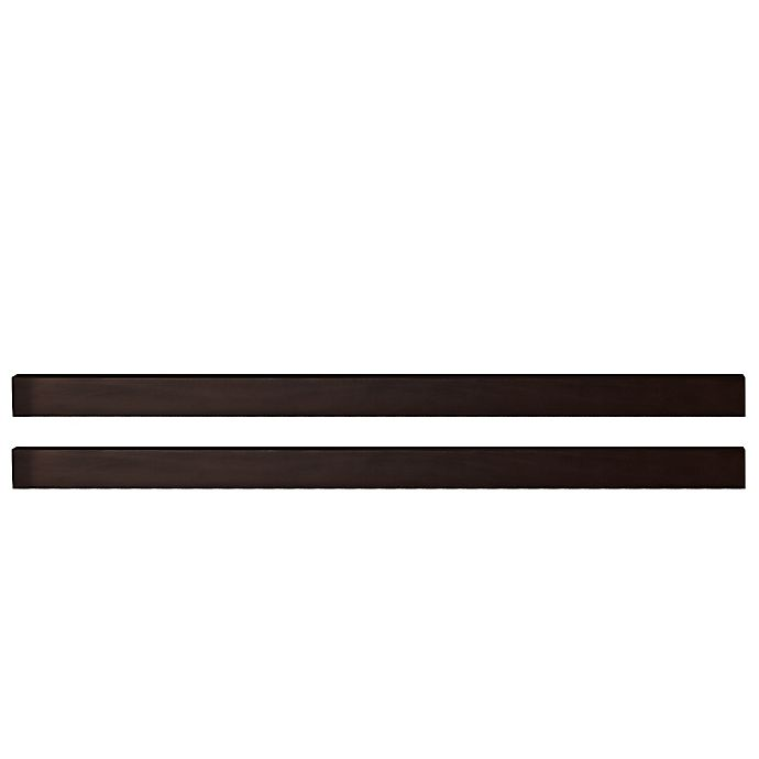 Alternate image 1 for Pali™ Universal Full-Size Bed Rails in Mocha (Set of 2)
