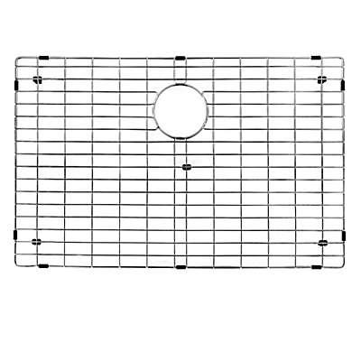 Vigo 16.9-Inch x 29.9-Inch Kitchen Sink Bottom Grid in Polished Chrome