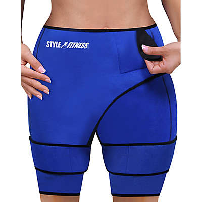 Slimming Sauna Shorts in Blue