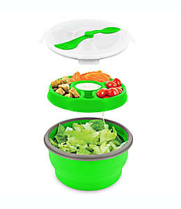 Tazón para ensalada Smart Planet Eco Deluxe plegable