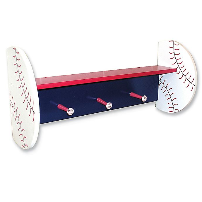 Alternate image 1 for Trend Lab® Little MVP Baseball Wall Shelf