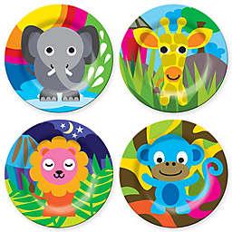 French Bull® Jungle Kids' 4-Piece Plate Set