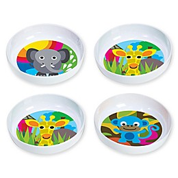 French Bull® Jungle Kids' 4-Piece Bowl Set
