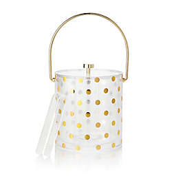 kate spade new york Raise a Glass Acrylic Ice Bucket and Tongs