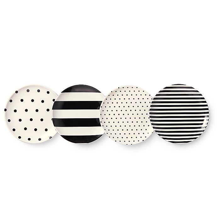 Alternate image 1 for kate spade new york Raise a Glass Melamine Coasters (Set of 4)