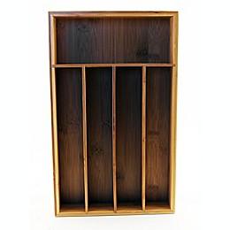 BergHOFF® CooknCo 5-Slot Bamboo Flatware Organizer