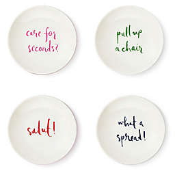 kate spade new york Salut! Tidbit Plate (Set of 4)