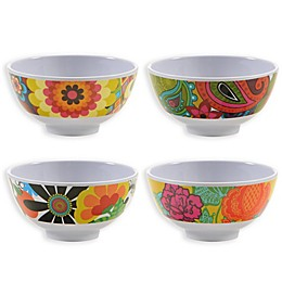 French Bull® Floral Mini Bowl Set in Multi (Set of 4)