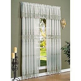 Commonwealth Home Fashions Anna Maria Window Curtain Panel