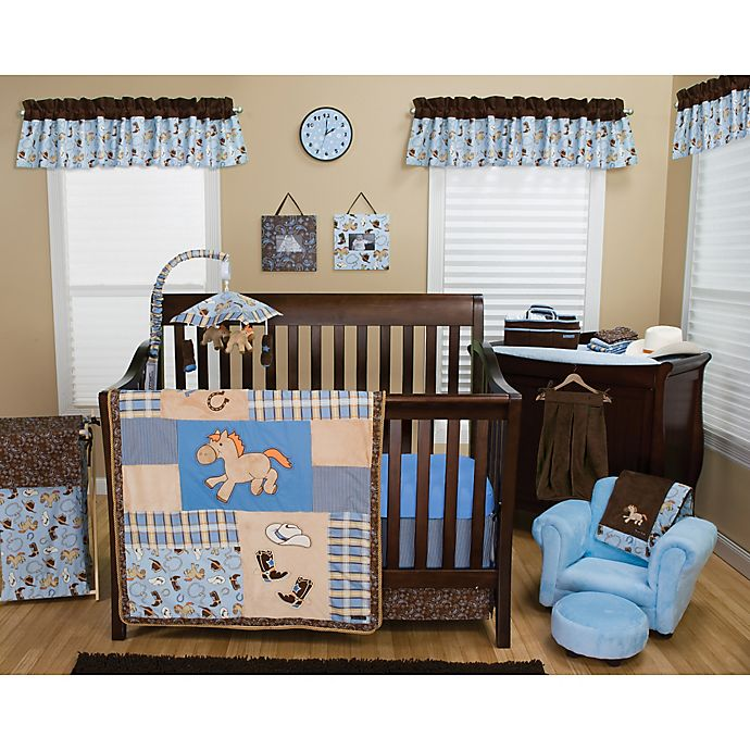 Trend Lab Cowboy Baby Crib Bedding Collection