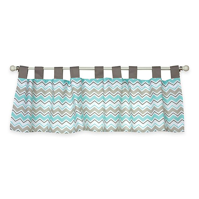 Alternate image 1 for Trend Labs® Seashore Waves Window Valance