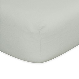 Trend Lab® Flannel Fitted Crib Sheet in Grey